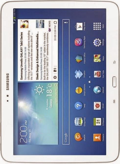 Spesifikasi Dan Harga Tablet Samsung Galaxy Tab 3 101