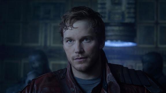 chris pratt as peter quill / star-lord guardians of the galaxy movie 2014 hd wallpaper