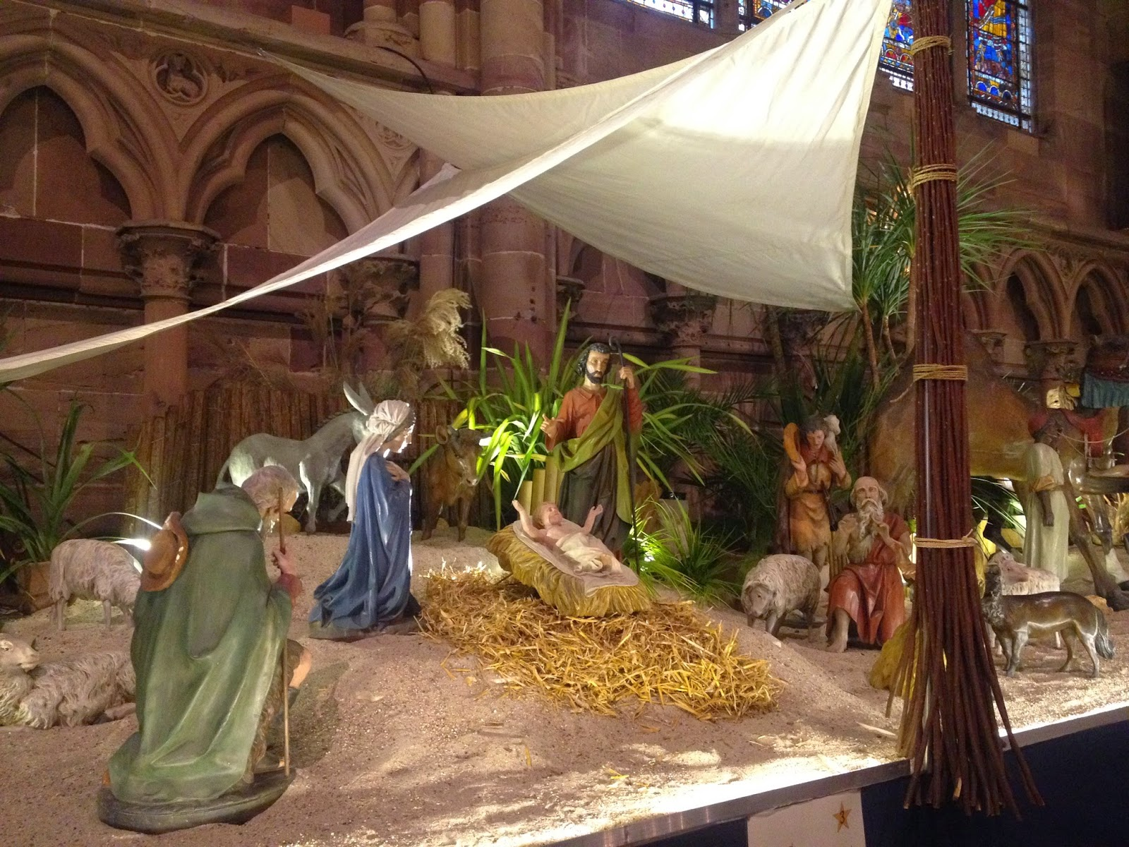 Nativity in the Strasbourg Cathedral