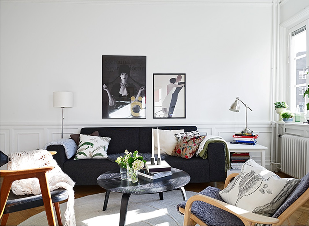 My bohemic home: vardagsrums inspiration