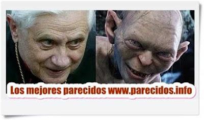 Ratzinger y Gollum