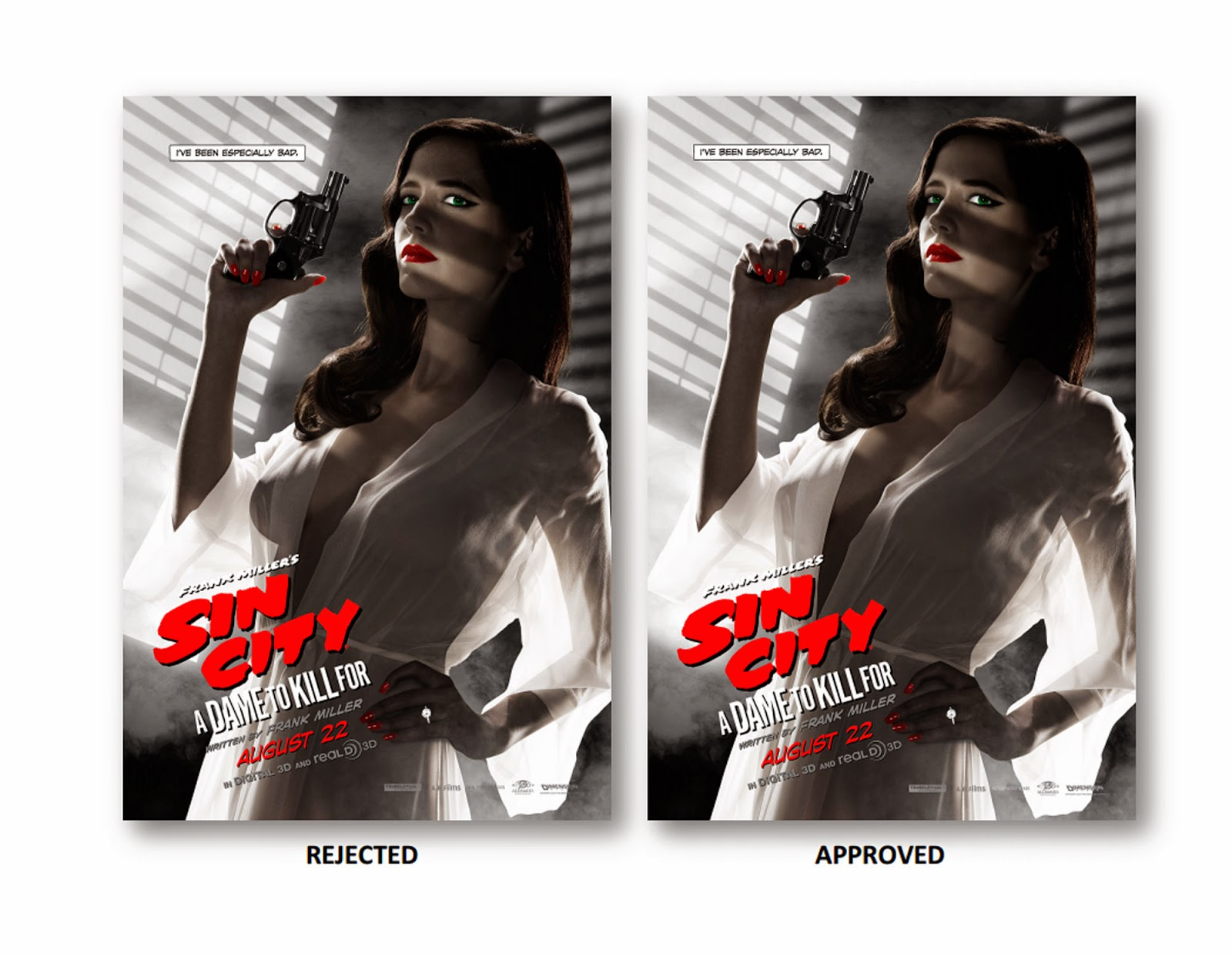 Eva Green Sin City 2 Poster