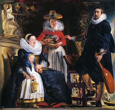 Jordaens - la famille de l'artiste