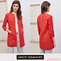 Queen Letizia Style -  ADOLFO DOMİNGUEZ Coat