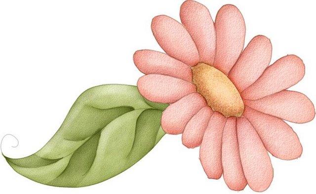 Imagenes de flores coloreadas - Imagenes y dibujos para imprimir