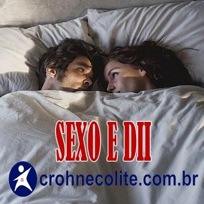 Sexo e doença de Crohn e colite ulcerativa