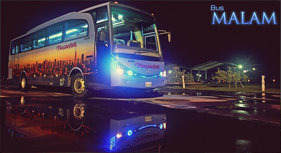 Tips Bepergian dengan Bus Malam