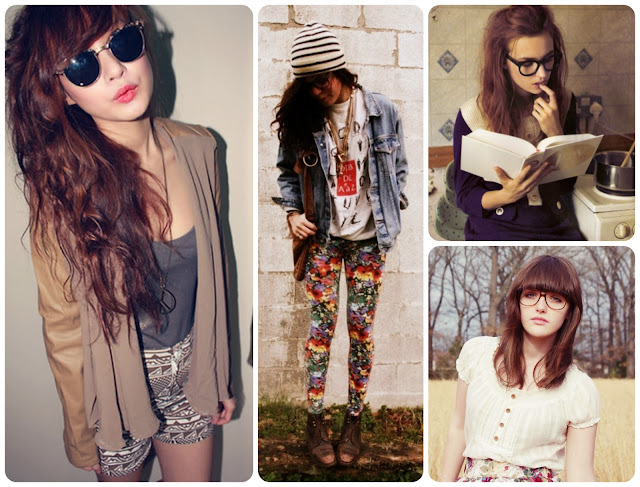 Look hipster girl