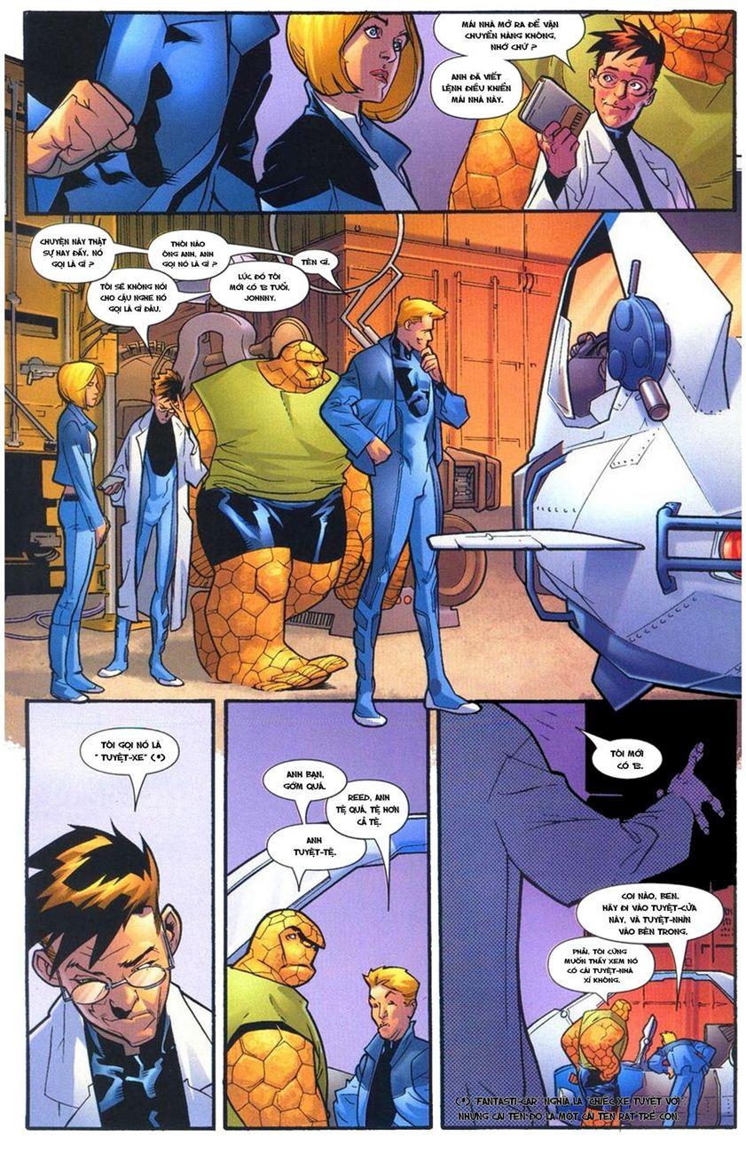Ultimate Fantastic Four chap 10 - Trang 16