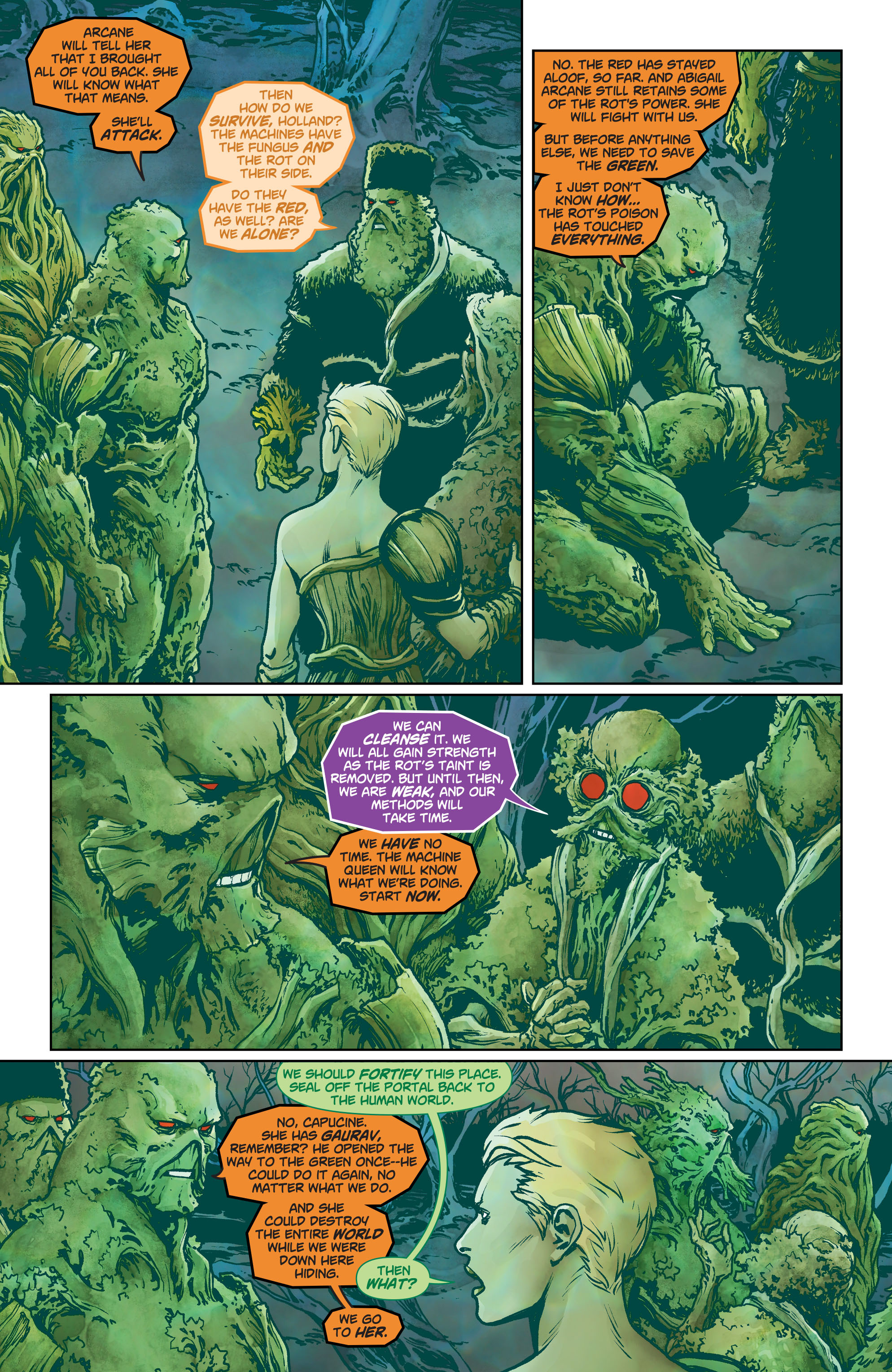 Swamp Thing (2011) Issue #40 #45 - English 7