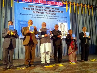 Education in the Darjeeling hills during the period of Gorkhaland Agitation - book released