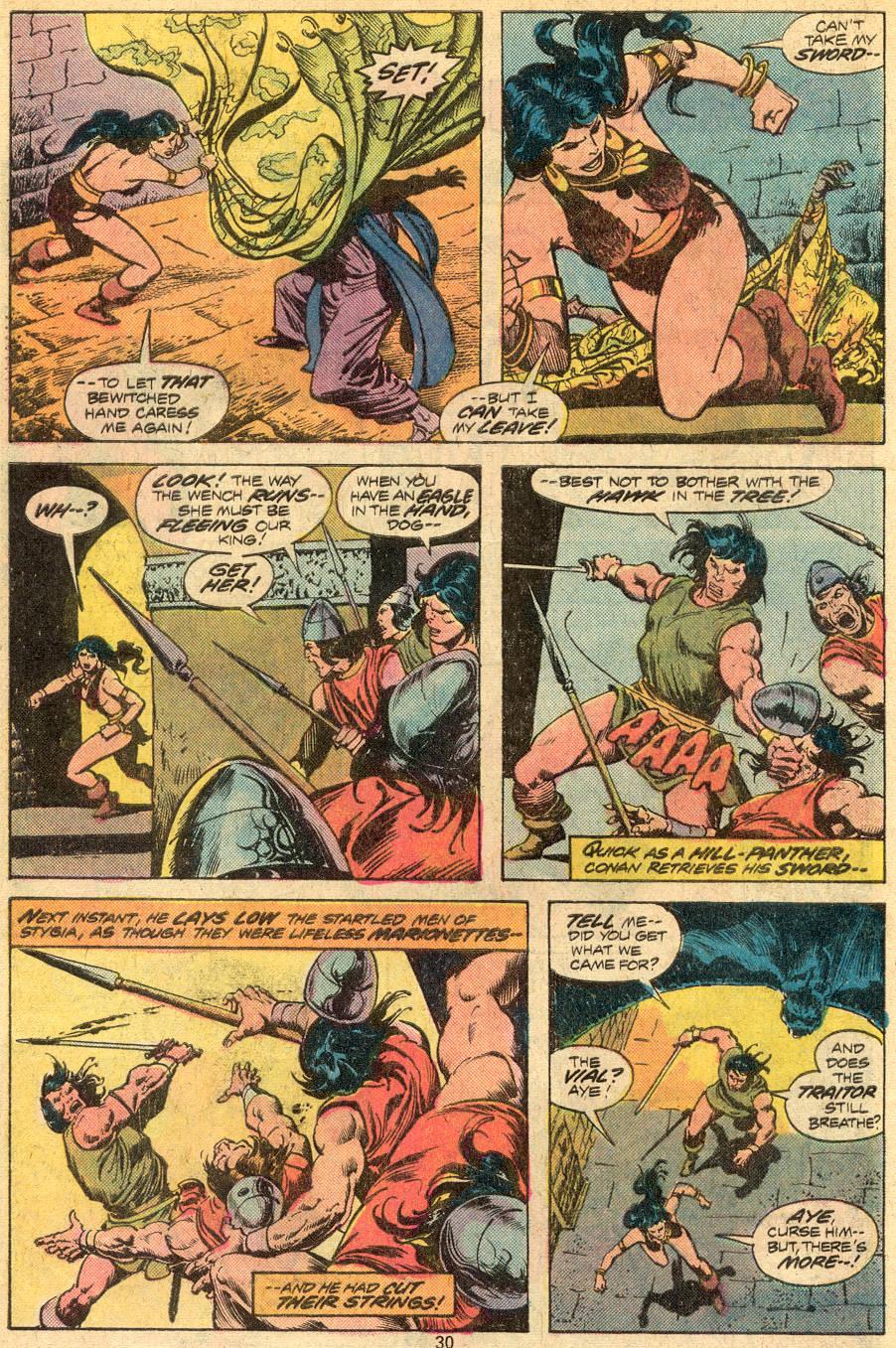 Conan the Barbarian (1970) Issue #72 #84 - English 17