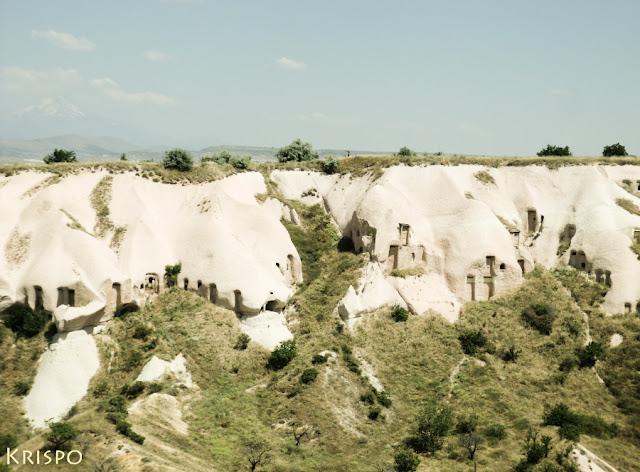 cuevas y viviendas en piedra en capadocia