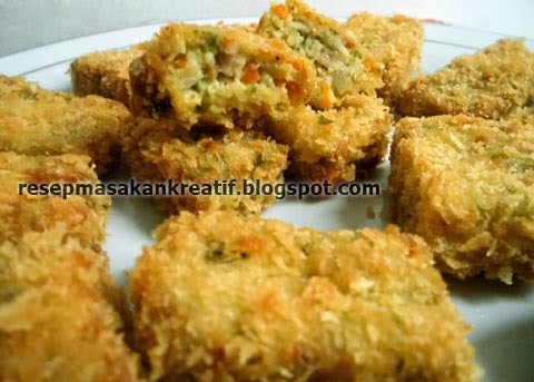 Cara Membuat Nugget Sayur Wortel Brokoli