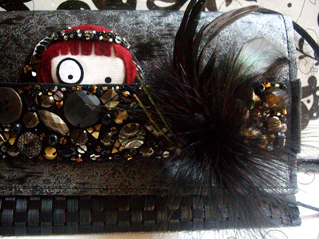conjunto de fiesta foltys vs the metallic clutch (100% handmade with ♥)