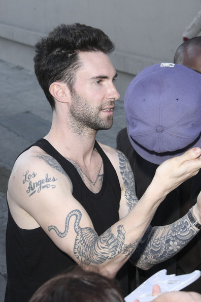 artistmikemiller: adam levine tattoos