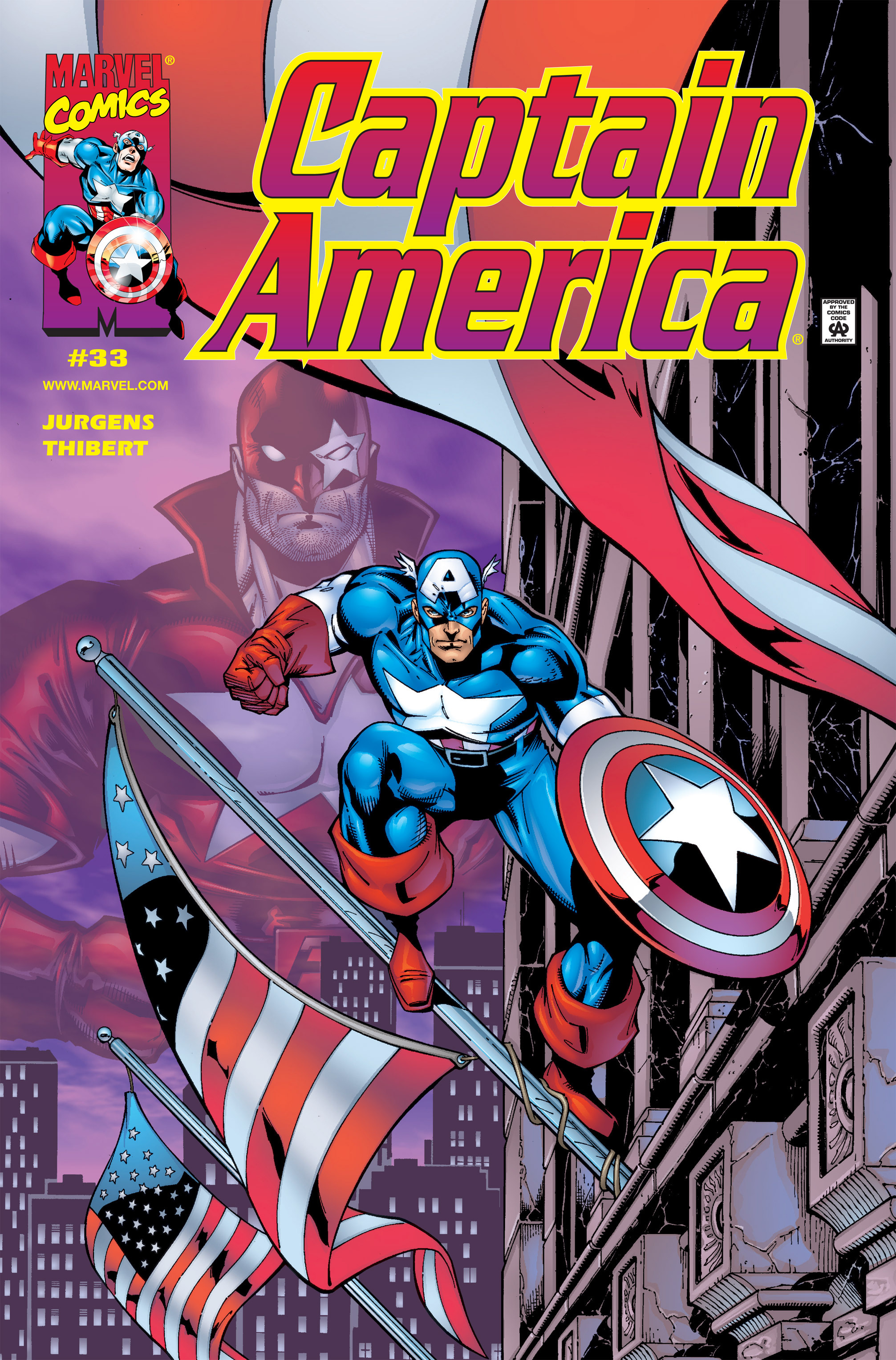Captain America (1998) 33 Page 1
