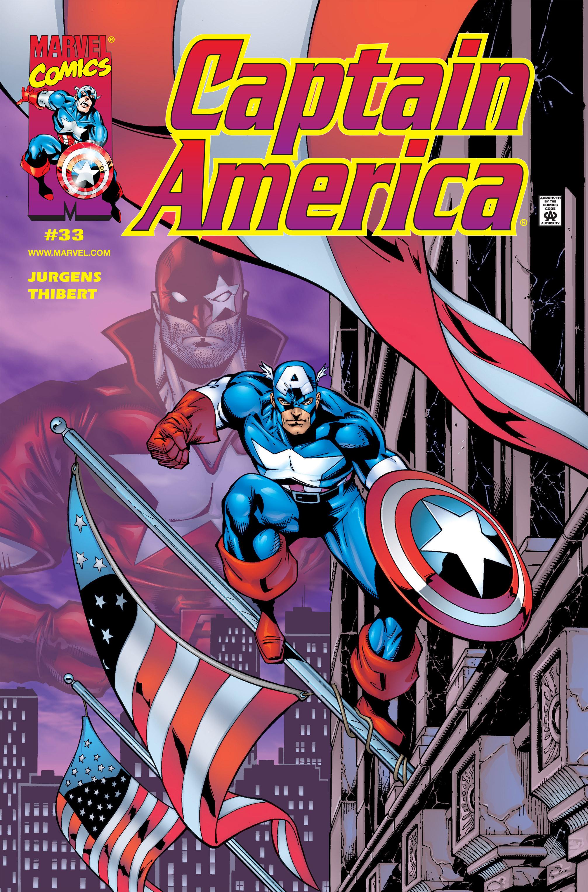 Captain America (1998) Issue #33 #39 - English 1