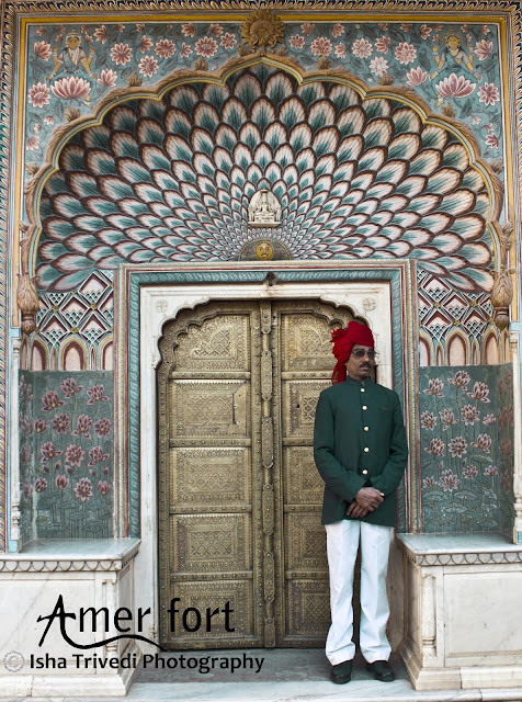 Painted Ceiling - Amer Fort - clicked by Isha Trivedi