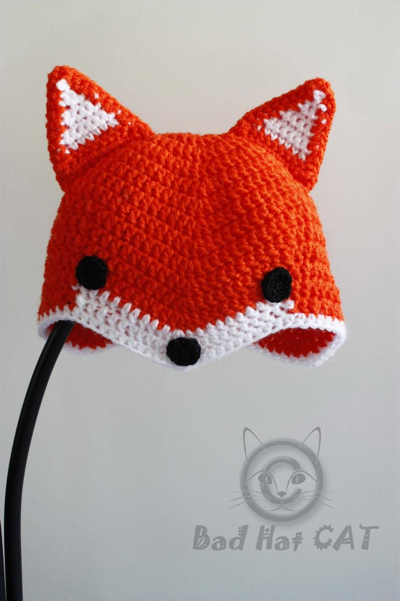 Crochet Fox Hat Pattern Free Amazing Inspiration