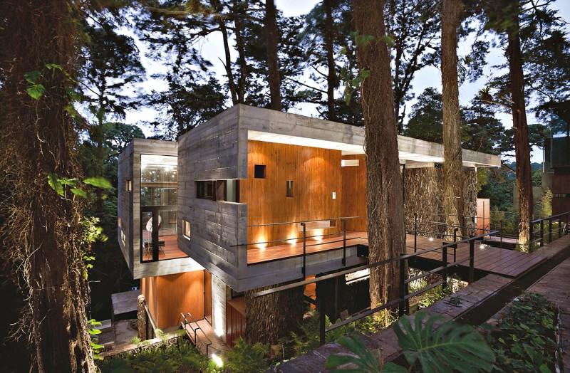 House in Santa Rosalia, Guatemala