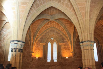 Chapter room of Monasterio de Piedra