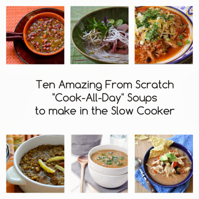 Cook-All-Day Slow Cooker Soups