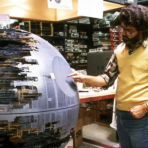 George Lucas y la estrella de la muerte