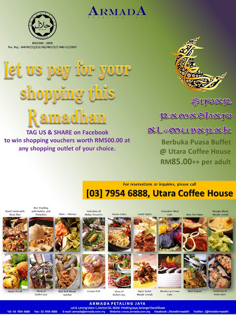 2012+FB+Ramadhan+Shout out Buffet Ramadhan 2012 l Menang Rm500 Shopping Vaucer Armada Hotel