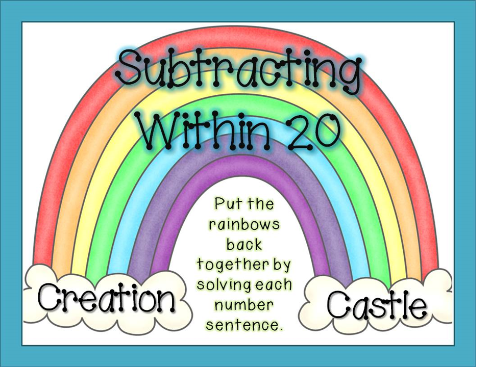 http://www.teacherspayteachers.com/Product/Subtracting-Within-20-Rainbows-608400