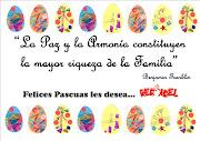 Felices Pascuas!!! Publicado por ML Redondel en 18:31 pascuas