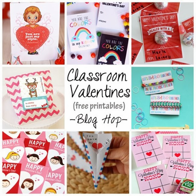 SHARE | FREE Monthly Printables BLOG HOP :: Valentine