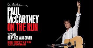 Paul McCartney se apresentou em Vancouver