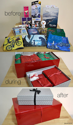ma's presents - before, during and after