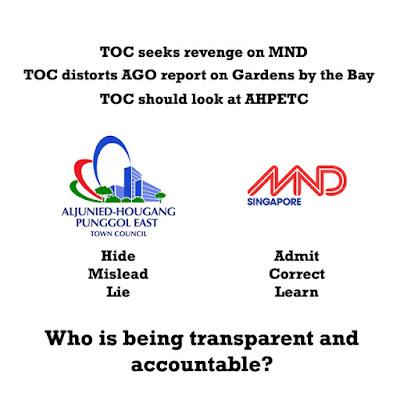 MND rebuts TOC AGO report