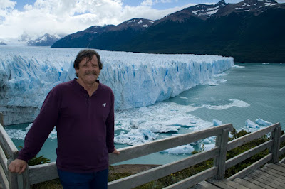 In Front of an Argentinian Glacier