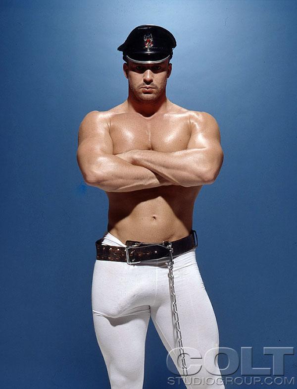 Big Dotado Gay Gostoso Homem Sarado Olho Mala Pau Duro Marcando