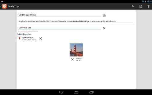 Aplicaciones gratis – Aplicación para enviar Artículos Post Entradas de Blogger desde mi Smartphone