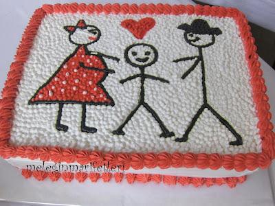 Mutlu aile pastası..