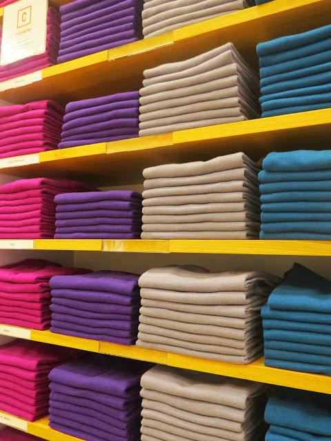 UNIQLO Cashmere Sweaters
