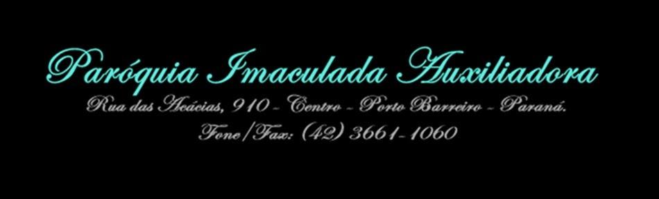 PARÓQUIA IMACULADA AUXILIADORA
