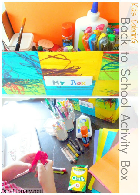 back to school activity box toddler