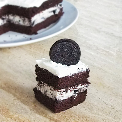 Elise In The Snow And Sun Insane Oreo Cake Eggless