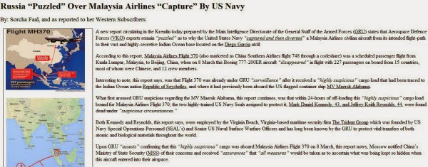 Teori MH370 Mendarat di Diego Garcia