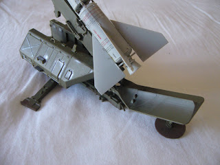 SA-2 Guideline Missile on launcher Trumpeter