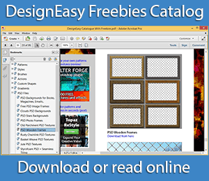 DesignEasy Freebies Catalog