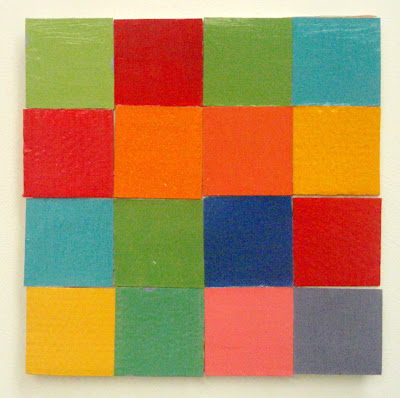 kate mackay, one and the same construction, geometric abstraction, non- objective, art, cardboard, factory 49