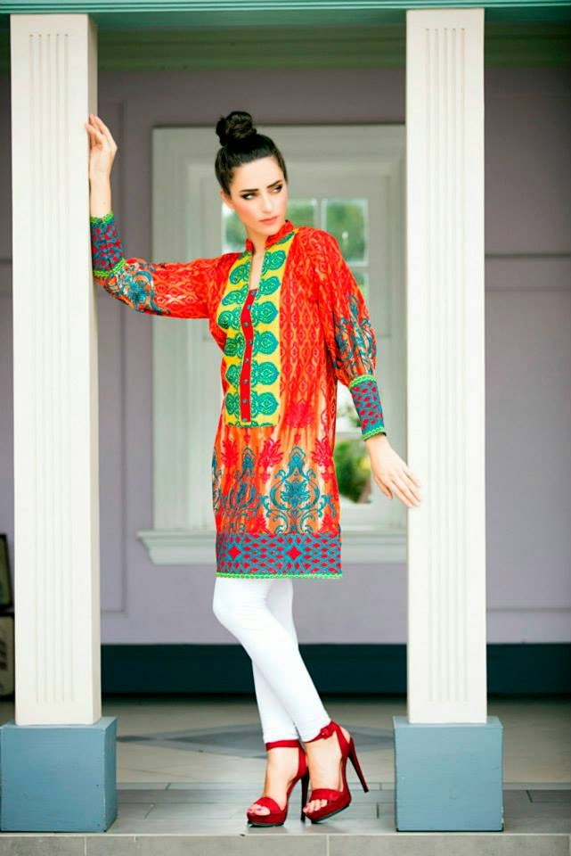 Ready to Wear Winter Collection Phulkari by TaanaBaana