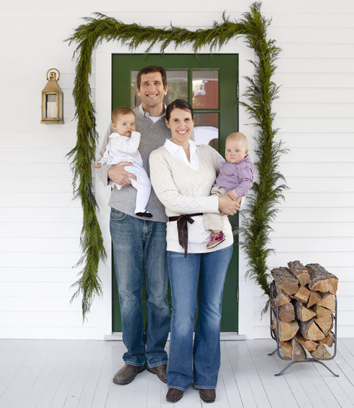 Evergreens by Sherwin Williams - door paint color