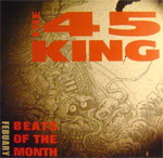 45 King ‎– Beats Of The Month February (2000, 192) VLS